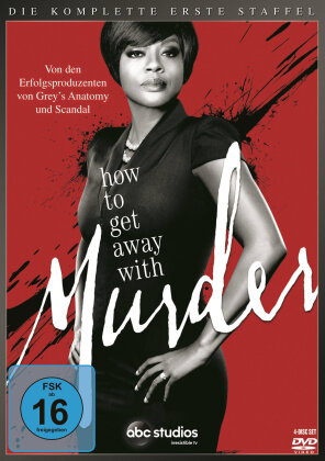 How to get away with Murder - Staffel 1 (4 DVDs)