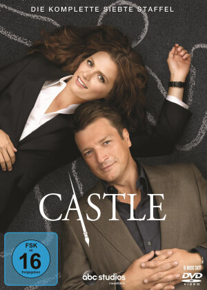 Castle - Staffel 7 (6 DVDs)