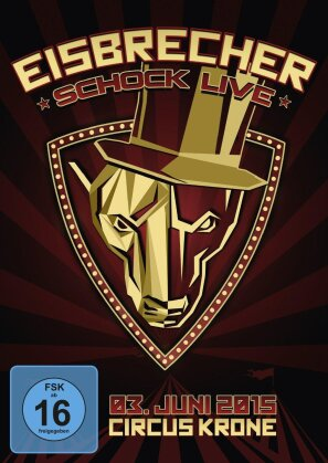 Eisbrecher - Schock - Live (Limited Edition, 2 DVDs)