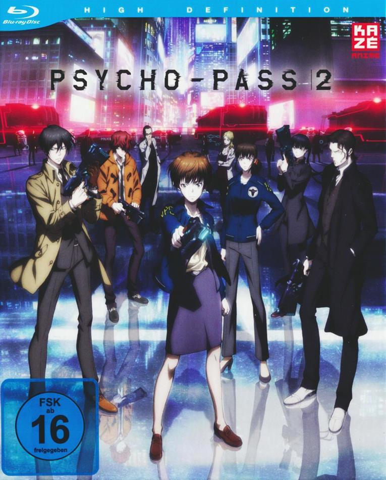Psycho-Pass - Staffel 2.1 (+ Sammelschuber, Digibook, Limited Edition)
