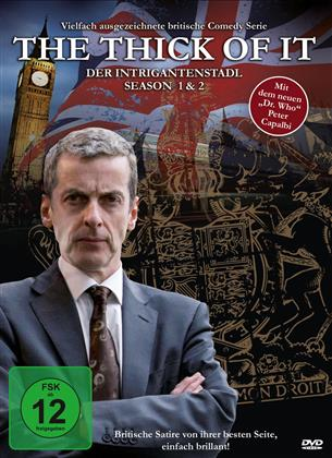 The Thick of It - Der Intrigantenstadl - Staffel 1 & 2