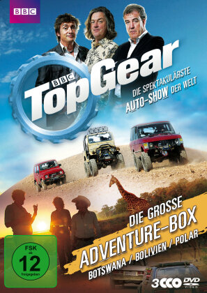 Top Gear - Die grosse Adventure-Box (3 DVDs)