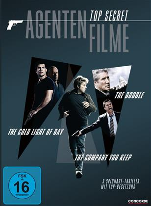 Top Secret - Agentenfilme - The Double / The Cold Light of Day / The Company You Keep (3 DVDs)