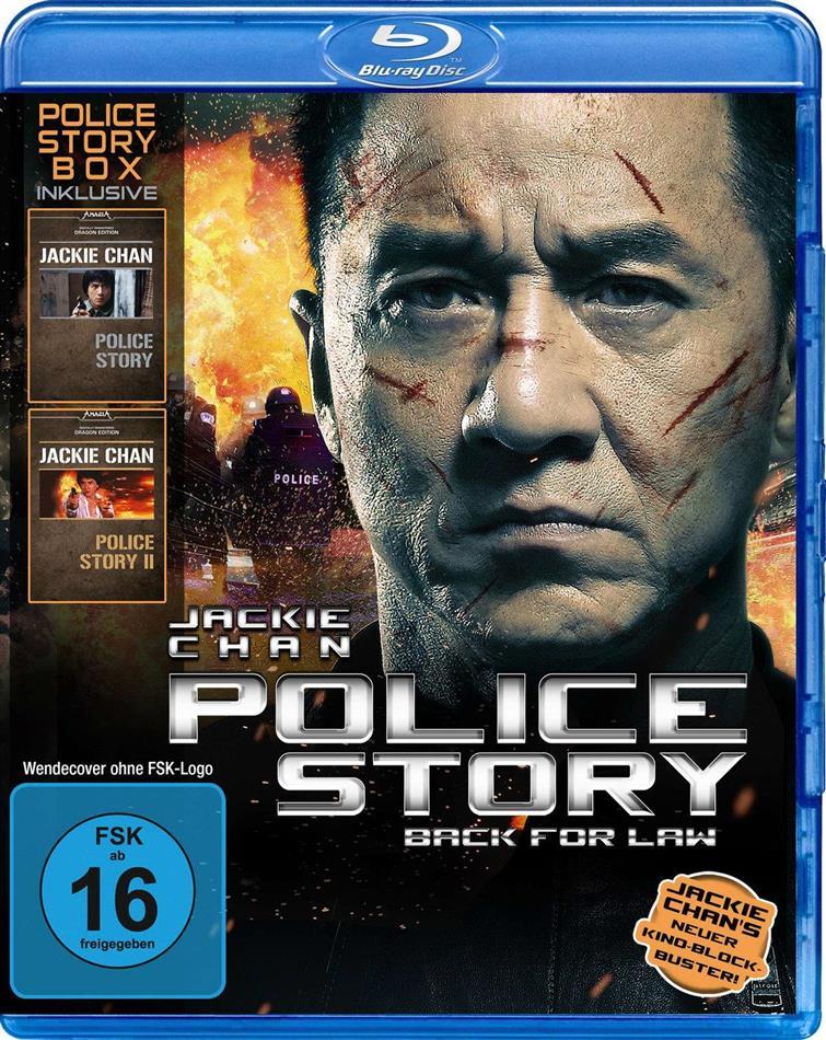 Police Story 1 - 3 (3 Blu-rays)