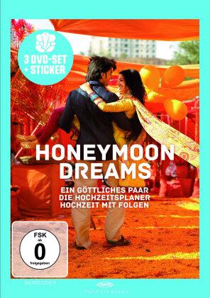Honeymoon Dreams - Ein Göttliches Paar / Die Hochzeitsplaner / Hochzeit mit Folgen (3 DVD)