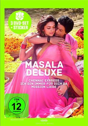 Masala Deluxe - Chennai Express / Ich bin immer für dich da! / Mission Liebe (3 DVD)