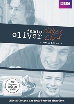 Jamie Oliver - The Naked Chef - Staffel 1-3 (BBC, 5 DVDs)