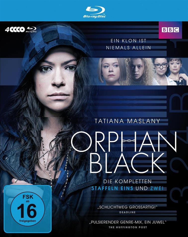 Orphan Black - Staffel 1 + 2 (BBC, 4 Blu-ray)