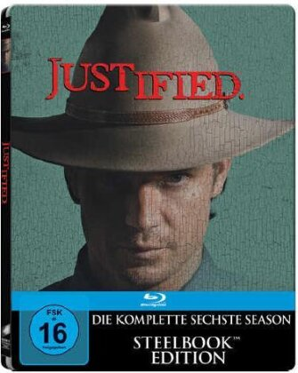 Justified - Staffel 6 - Die Finale Staffel (Steelbook, 3 Blu-rays)