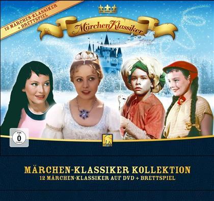 Märchen Klassiker Kollektion (Brettspiel, Märchen Klassiker, Limited Edition, 12 DVDs)