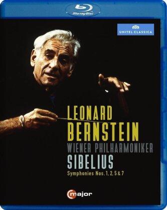 Wiener Philharmoniker & Leonard Bernstein (1918-1990) - Sibelius - Symphonies Nos. 1, 2, 5 & 7 (C-Major, Unitel Classica)