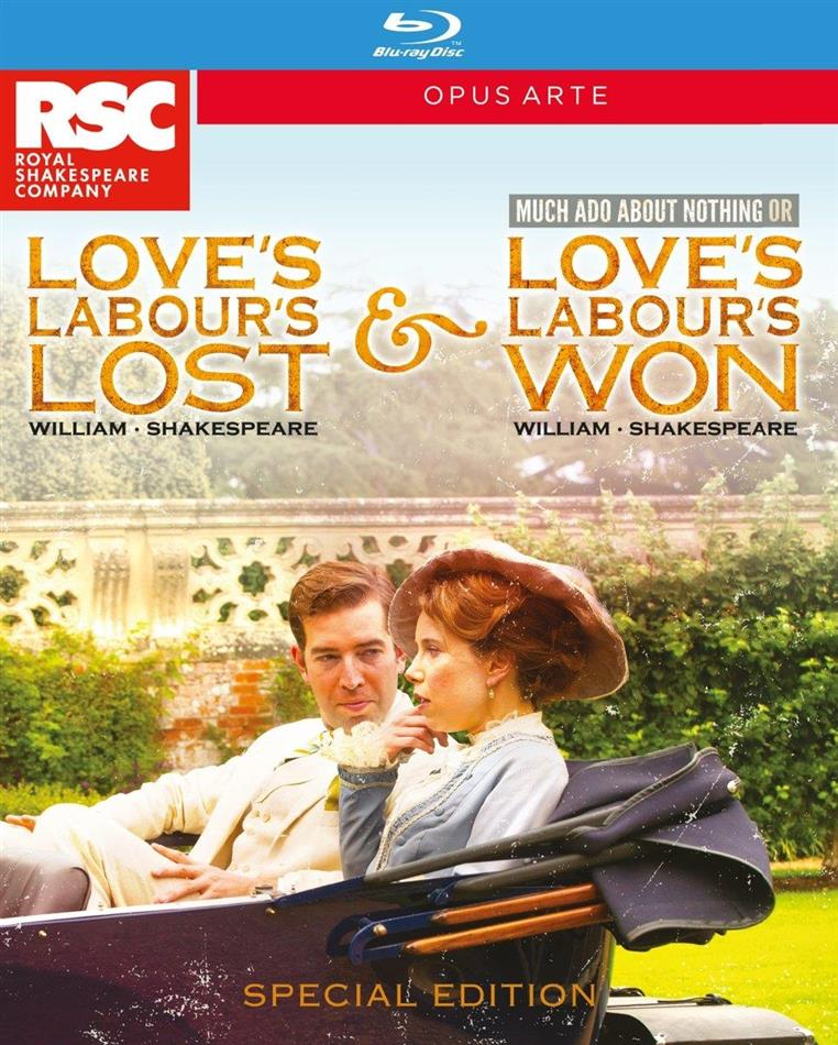 Love's Labour's Lost / Love's Labour's Won (Opus Arte, Special Edition, 2 Blu-rays) - Royal Shakespeare Company