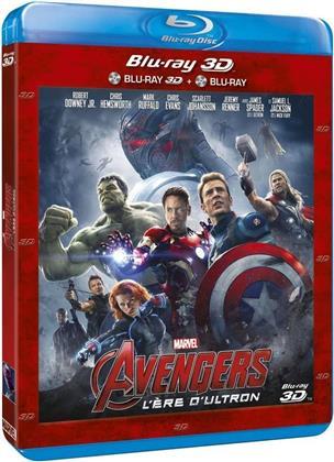 Avengers 2 - L'ère d'Ultron (2015) (Blu-ray 3D + Blu-ray)