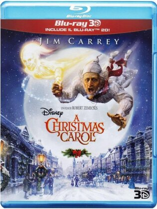 A Christmas Carol (2009) (Disney, Blu-ray 3D + Blu-ray)