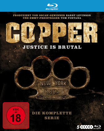 Copper - Justice Is Brutal - Die Komplette Serie (5 Blu-rays)