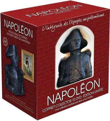 Napoléon - l'integrale de l'épopée napoléonienne (+ Büste, Collector's Edition, 10 DVD)