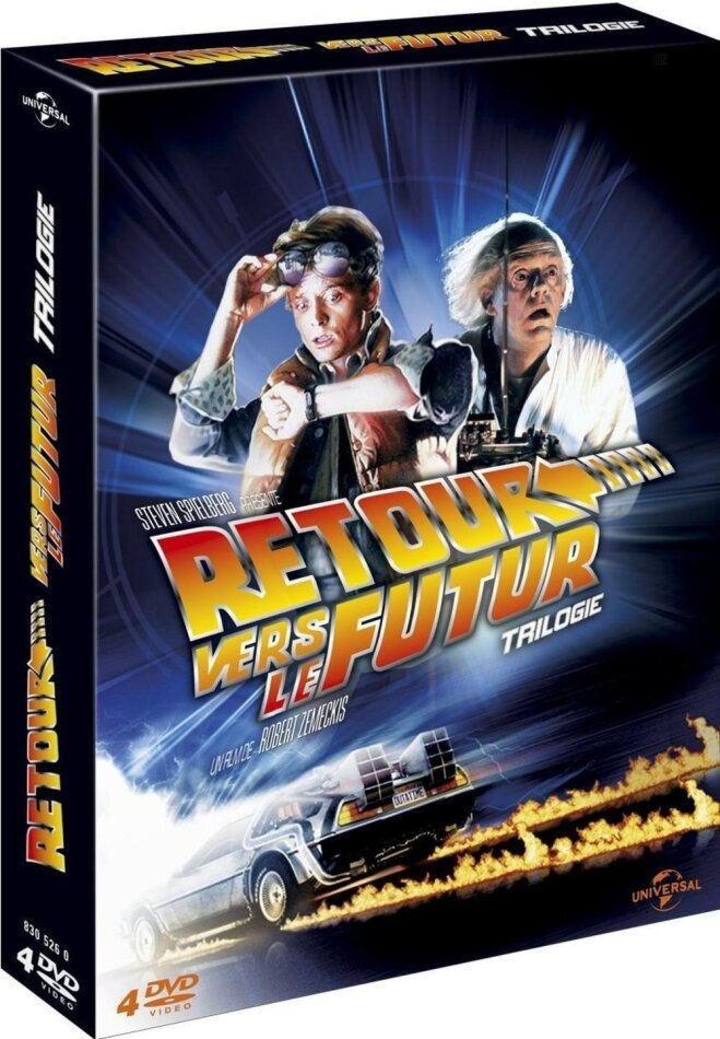 Retour vers le futur - Trilogie (30th Anniversary Edition, 4 DVDs)