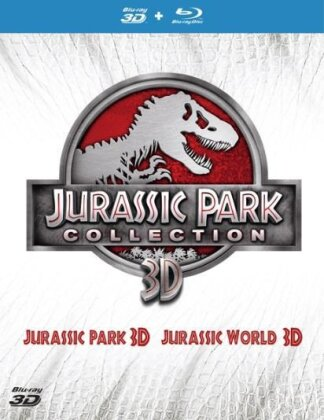 Jurassic Park Collection - Jurassic Park / Jurassic World (2 Blu-ray 3D + 2 Blu-ray)