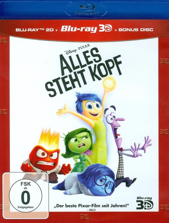 Alles steht Kopf (2015) (Blu-ray 3D + 2 Blu-rays)