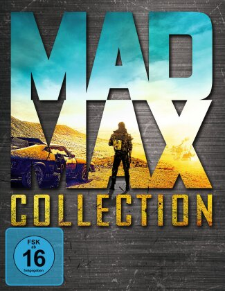 Mad Max Collection (4 Blu-rays)