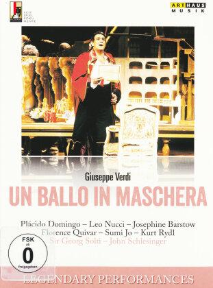 Wiener Philharmoniker, Sir Georg Solti, … - Verdi - Un ballo in maschera (Arthaus Musik, Legendary Performances, Salzburger Festspiele)