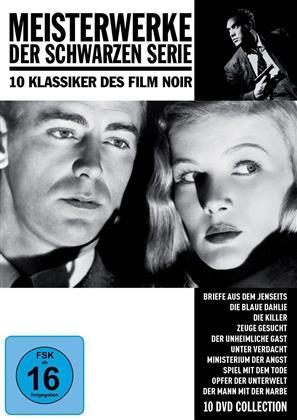 Meisterwerke der Schwarzen Serie - 10 Klassiker des Film Noir (s/w, 10 DVDs)