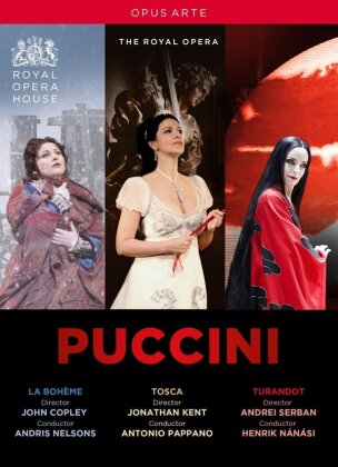 Orchestra of the Royal Opera House - Puccini - La Bohème / Tosca / Turandot (Opus Arte, 3 DVDs)