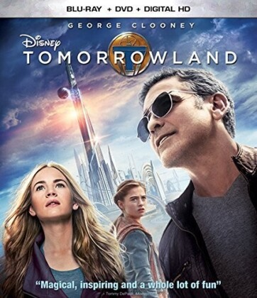 Tomorrowland (2014) (Blu-ray + DVD)