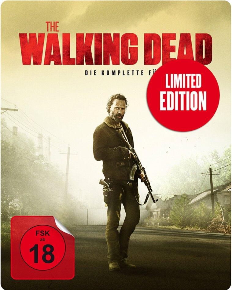 The Walking Dead - Staffel 5 (Limited Edition, Steelbook, Uncut, 6 Blu-rays)