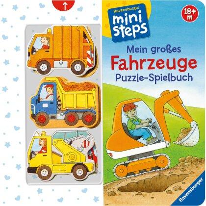 ministeps - Mein grosses Fahrzeuge Puzzle-Spielbuch