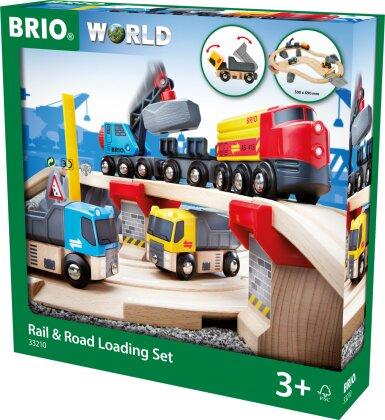 BRIO Railway 33210 - Rail & Road Loading Set