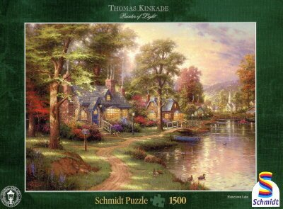 Am See - 1500 Teile Puzzle