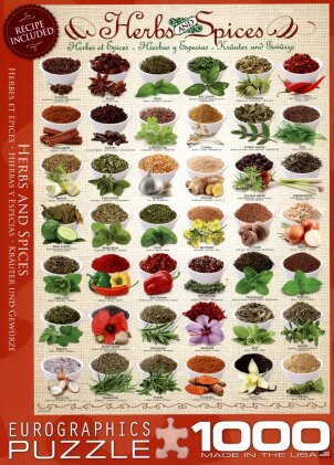 Herbs & Spices - Puzzle