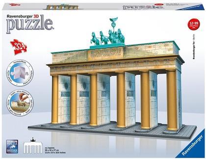 Brandenburger Tor - 324 Teile 3D Gebäude Puzzle