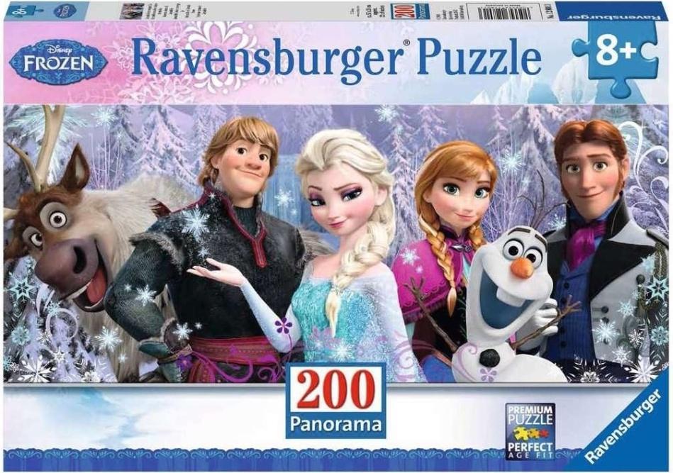 Disney Frozen: Arendelle im ewigen Eis - 200 Teile Panorama Puzzle