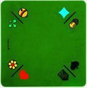 Jassteppich Combi-Jass 60 x 60cm [grün]