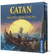 Catane : Pirates & Découvreurs - Une extension du jeu de base
