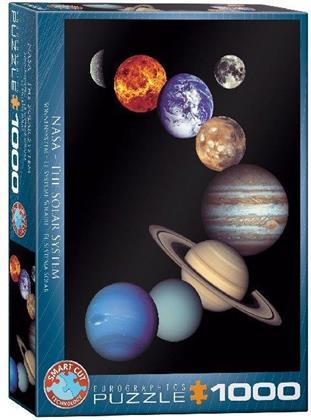 Sonnensystem - 1000 Teile Puzzle