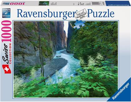 Swiss Collection: Aareschlucht - 1000 Teile Puzzle
