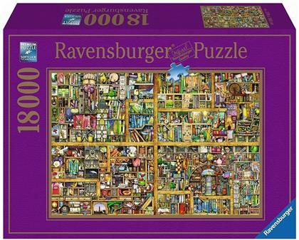 Magisches Bücherregal XXL - Puzzle 180000 Teile