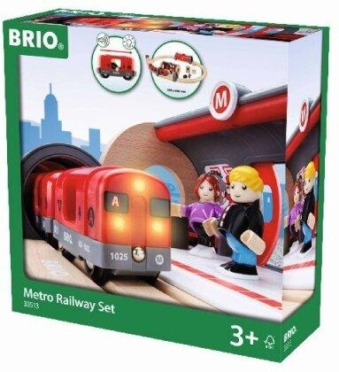 BRIO Railway 33513 - Metro Railway Set