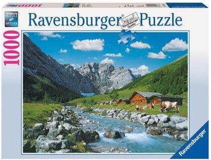 Karwendelgebirge Österreich Puzzle