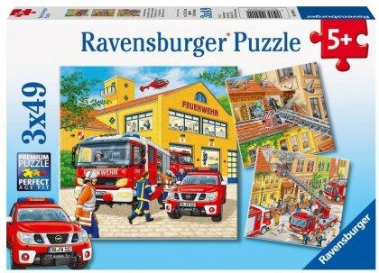 Feuerwehreinsatz - Puzzle