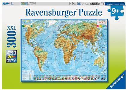 Politische Weltkarte - 300 XXL-Teile Puzzle