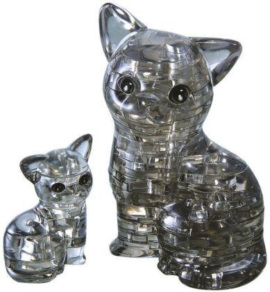 Crystal Puzzle - Katzenpaar