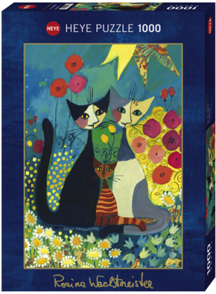 Rosina Wachtmeister: Flowerbed - Puzzle