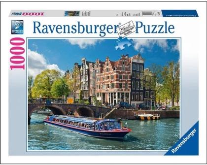 Grachtenfahrt in Amsterdam - Puzzle
