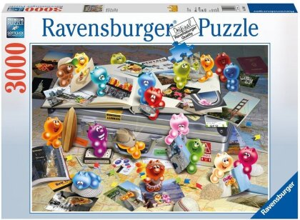 Gelini: Gelini auf Reisen - Puzzle