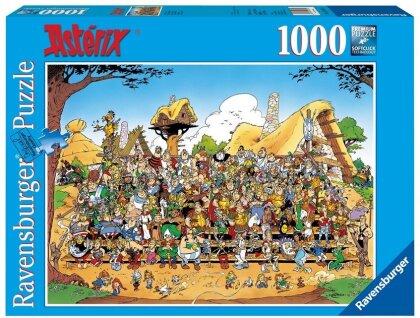 Asterix Familienfoto - Puzzle