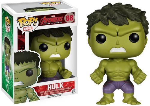 Avengers Age of Ultron: Hulk POP! 68 - Vinyl Bobble-Head (Edizione Limitata)